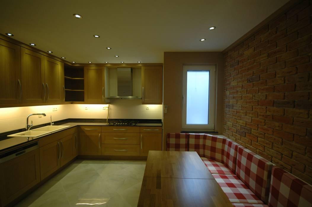 İndeko İç Mimari ve Tasarım 現代廚房設計點子、靈感&圖片