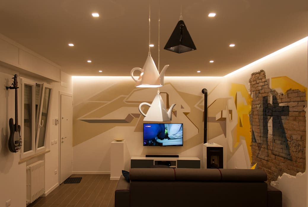 DB house Soggiorno eclettico di Architettura & Interior Design 'Officina Archetipo' Eclettico