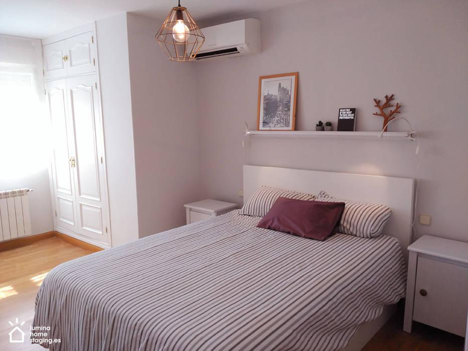 Dormitorio principal después de Lúmina Home Staging
