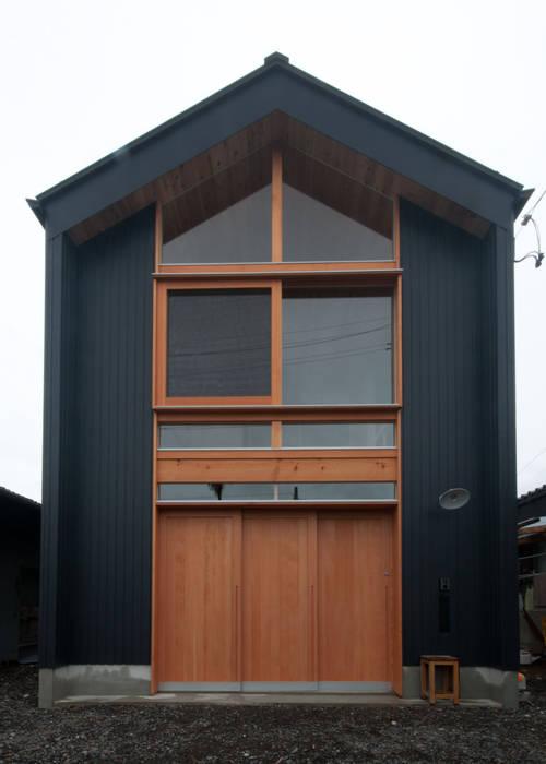 Rustic style houses by FrameWork設計事務所 Rustic