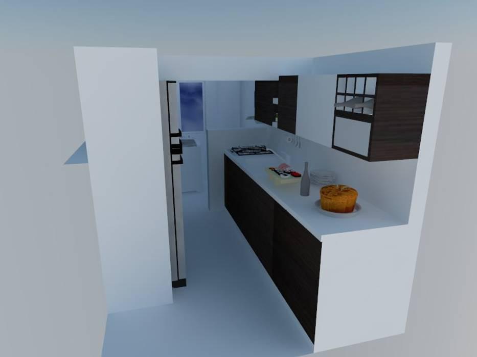 Diseño de cocinas 3d: de estilo por arte madera y estilo | homify