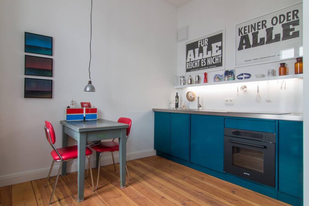 Cocinas modernas: Ideas, imágenes y decoración de Popstahl Küchen Moderno Hierro/Acero