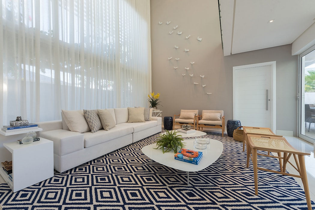 Renata Matos Arquitetura & Business Living roomAccessories & decoration MDF Multicolored
