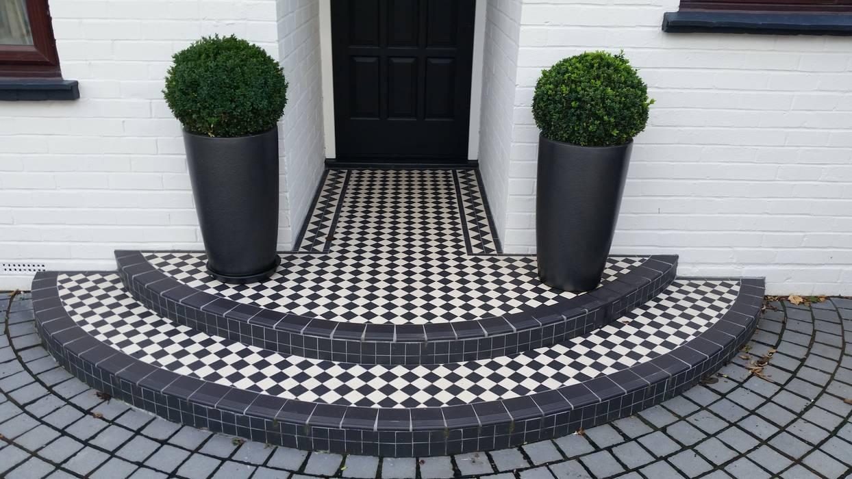 Jardin de style  par Linsey Evans Garden Design, Moderne