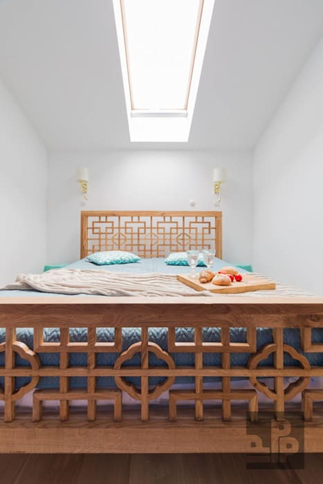 Pogotowie Projektowe Aleksandra Michalak Eclectic style bedroom