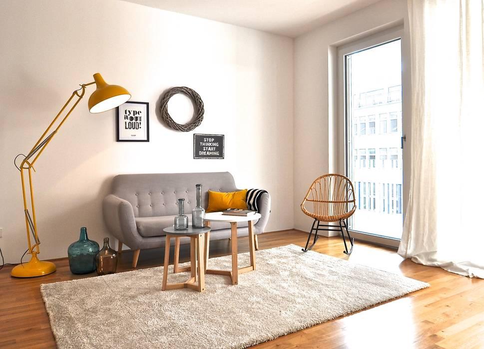 Livings de estilo  por Karin Armbrust - Home Staging,