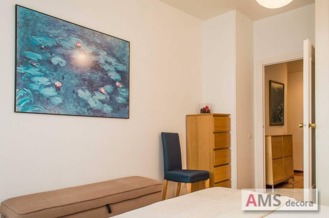 Detalle habitación principal AMS decora DormitoriosAccesorios y decoración