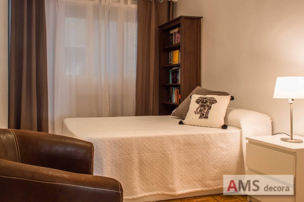 Habitación individual AMS decora DormitoriosCamas y cabeceros
