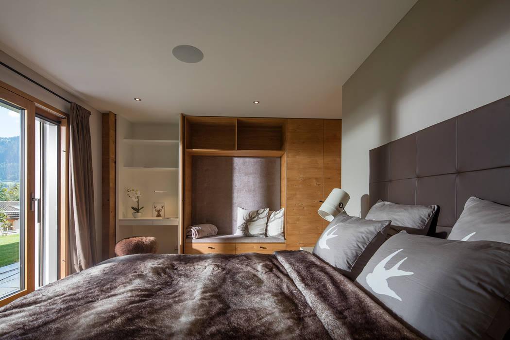 Schlafzimmer im modernen alpenstil moderne schlafzimmer von ...
