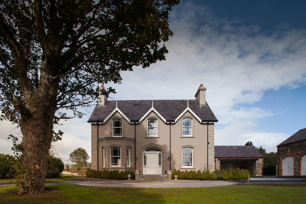 Casas de estilo  de Des Ewing Residential Architects, Rural
