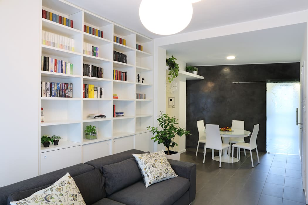 studio ferlazzo natoli Minimalist living room