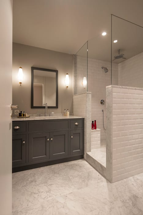 Badezimmer im shaker style: klassische badezimmer von baur ...