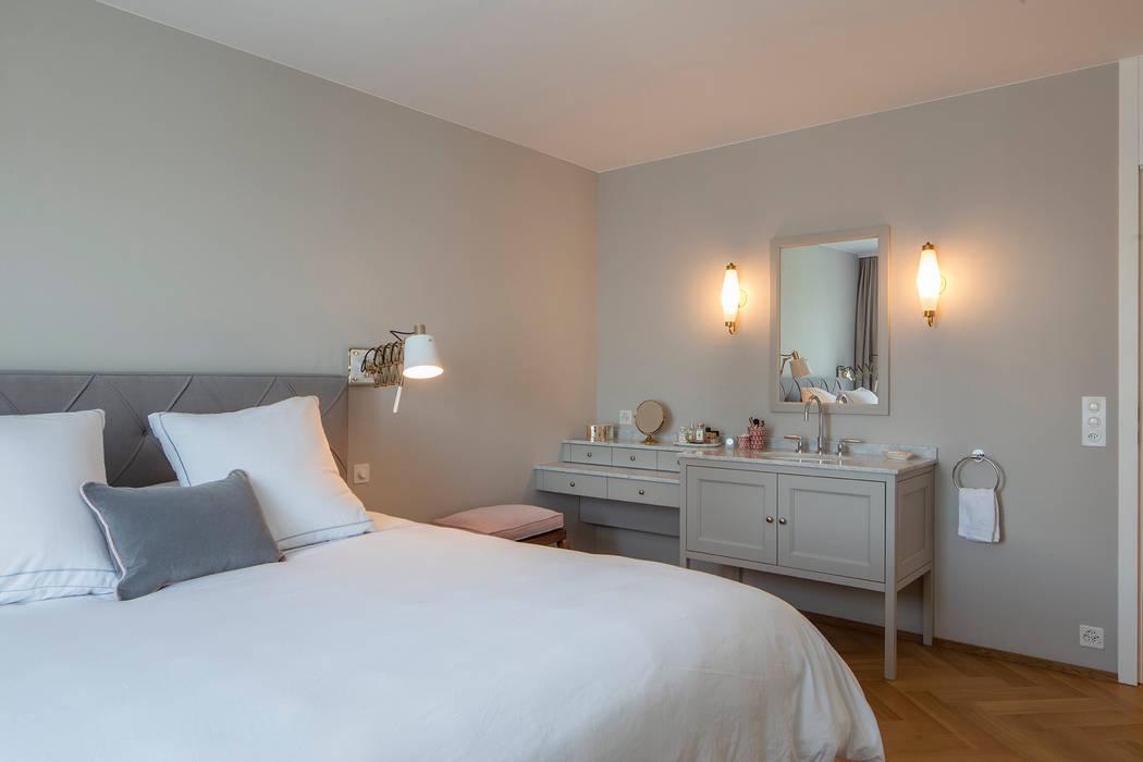 Schlafzimmer im shaker stil : klassische schlafzimmer von baur ...