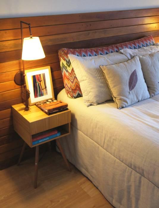 Dormitorios de estilo rústico de Elisa Vasconcelos Arquitetura Interiores Rústico