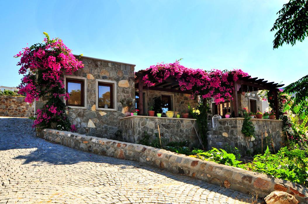 gümüşlük taş evler Gülercan Mimarlık Kırsal Evler