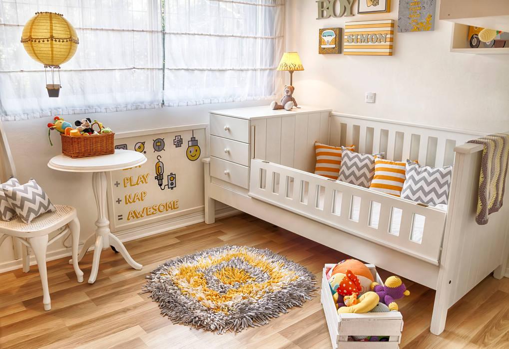 Dormitorio infantil  | MODERNO Y ACOGEDOR: Dormitorios infantiles de estilo  por G7 Grupo Creativo