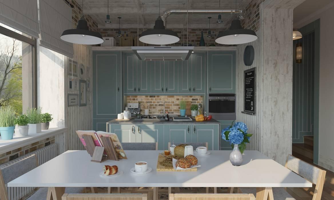 Cuisine de style  par Studio of Architecture and Design 'St.art', Industriel