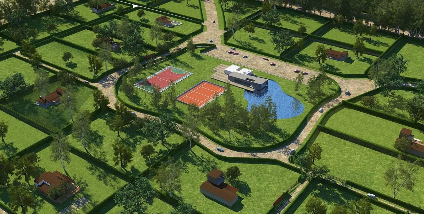 Casas de campo: Casas de estilo  por Nicolás Bello