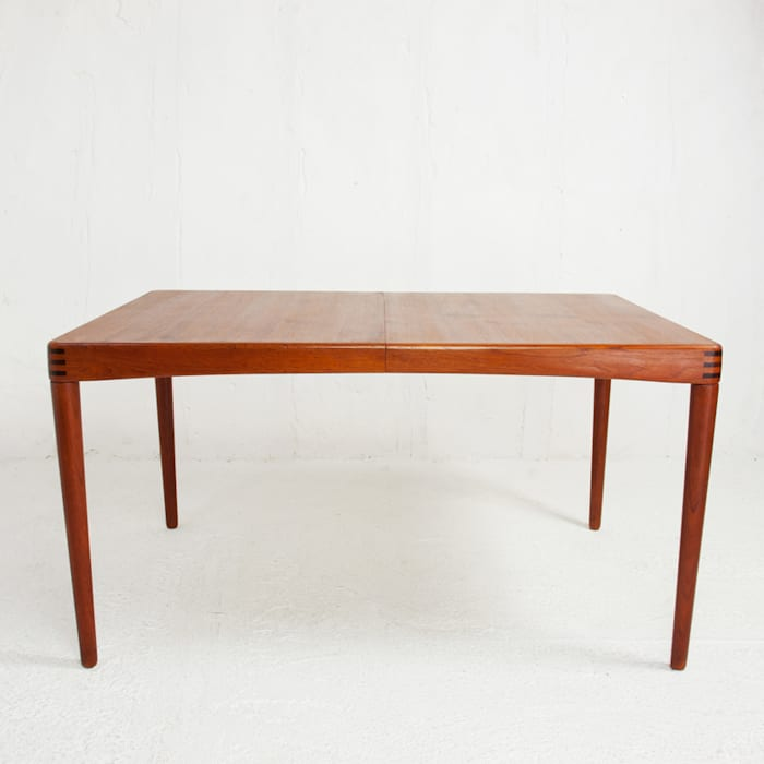 Table A Manger Extensible Danoise En Teck Design Henry Walter Klein