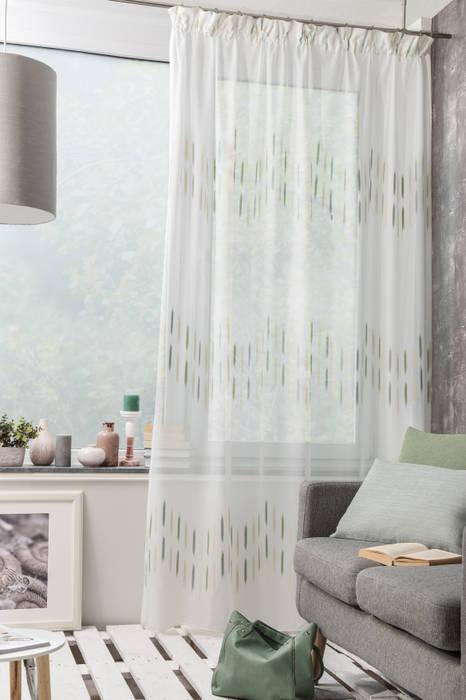 Indes gardine florian wohnzimmer im landhausstil von indes ...