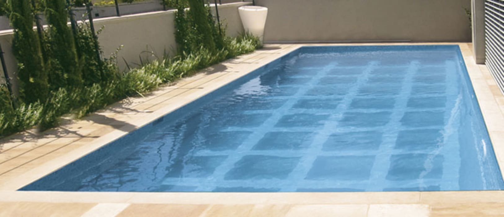 Glass covered Movable Floor Modern Pool by AGOR Engineering Modern