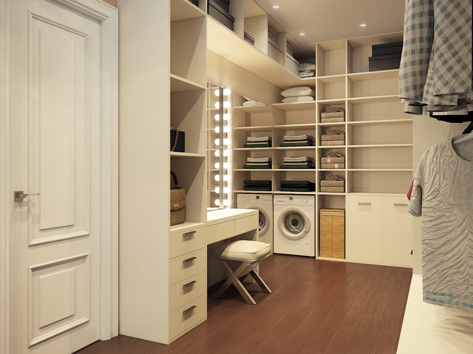 Closets de estilo  por Alyona Musina, Moderno