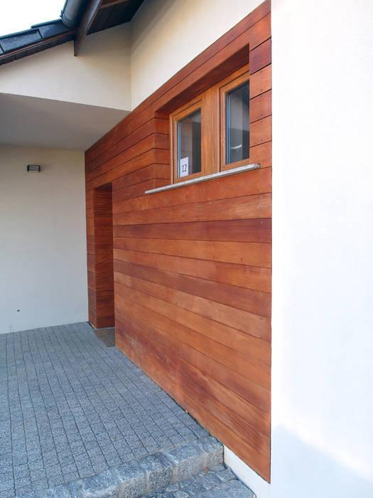 Realizacja elewacji drewnianej w Zielonej Górze PHU Bortnowski