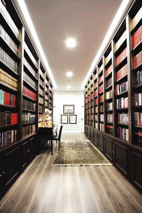 Biblioteca Espaços comerciais clássicos por Piloni Arquitetura Clássico
