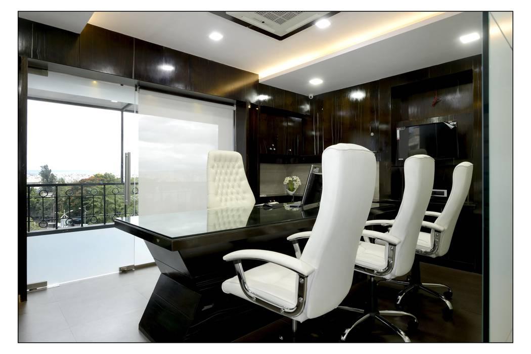 Directors Main Cabin 2 Office Buildings By Sayyam Interiors