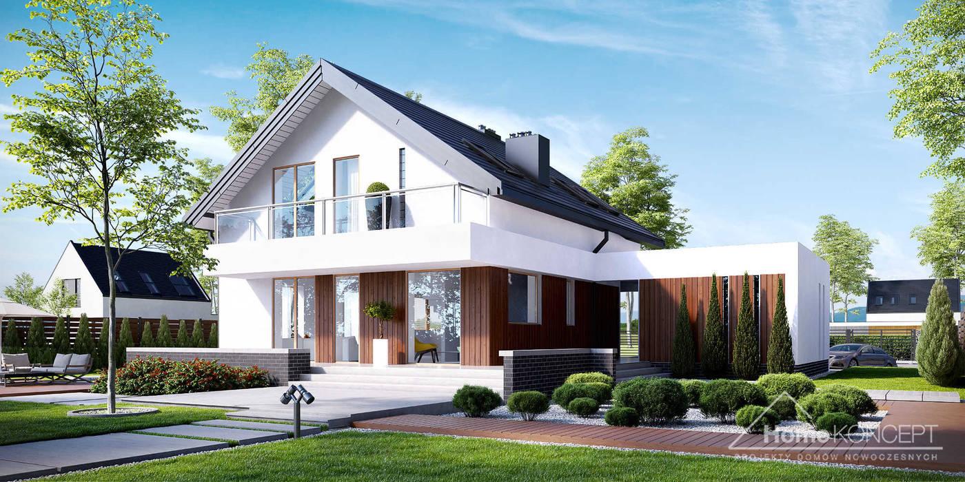 Houses by HomeKONCEPT   Projekty Domów Nowoczesnych