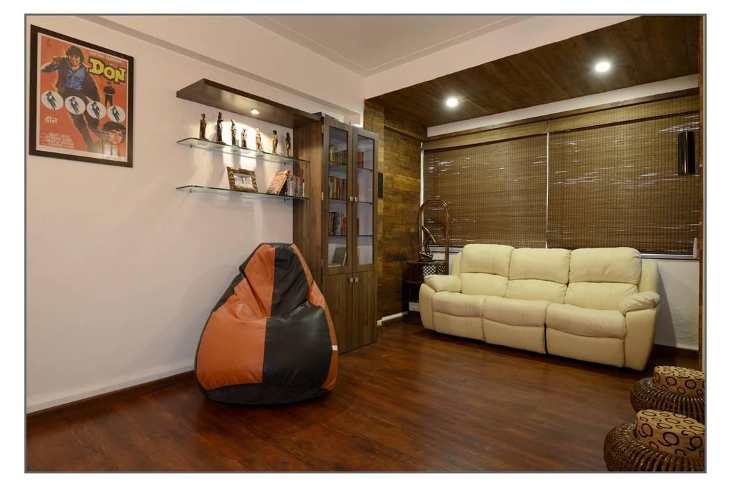 TV room: modern Media room by Navmiti Designs