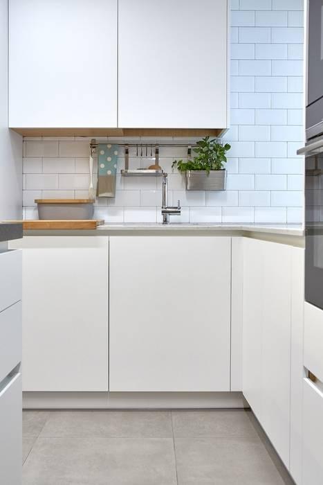 Dise o de cocina abierta al sal n cocinas de estilo de for Diseno de cocina abierta