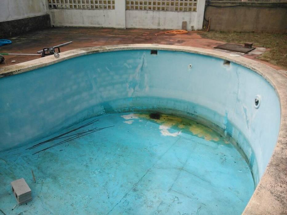 Vista general vaso piscina de Diaz Pools