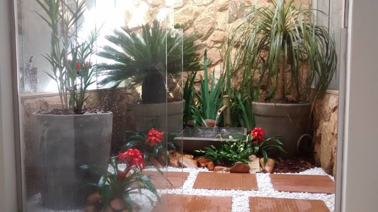 Сады в . Автор – Borges Arquitetura & Paisagismo, Модерн
