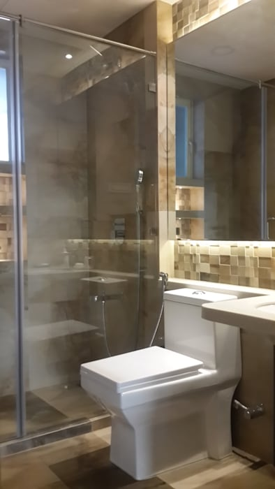Guest bathroom :  Bathroom by Arctistic design group