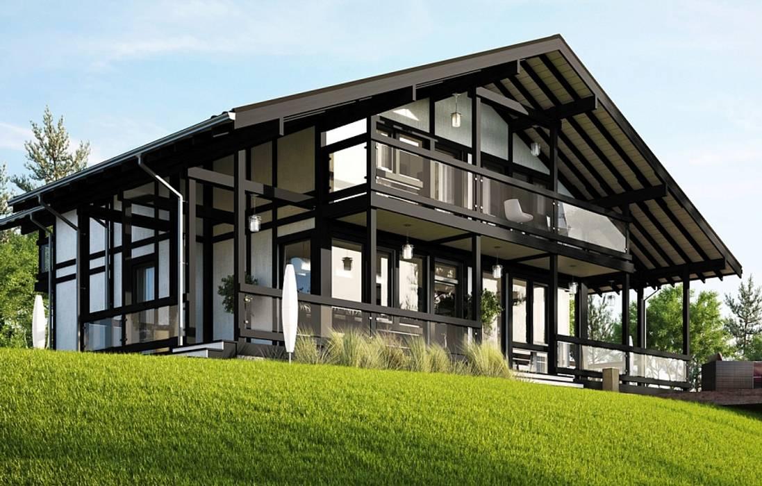 Maisons de style  par GOOD WOOD, Moderne