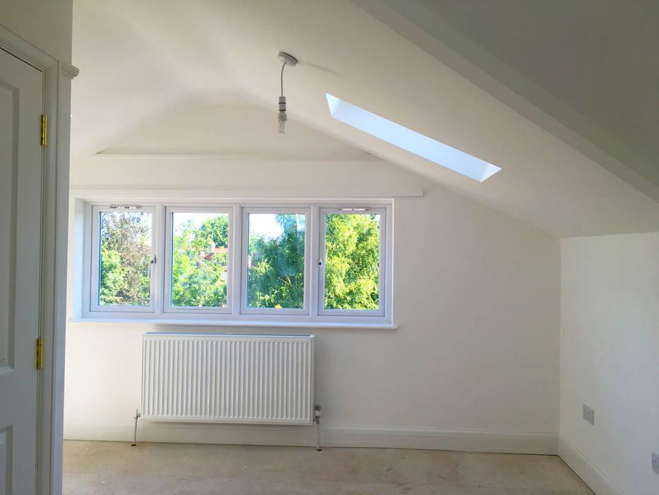 Loft Interior - As Built de Arc 3 Architects & Chartered Surveyors