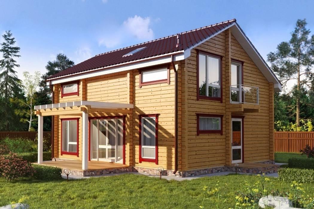 Houses by GOOD WOOD, Modern