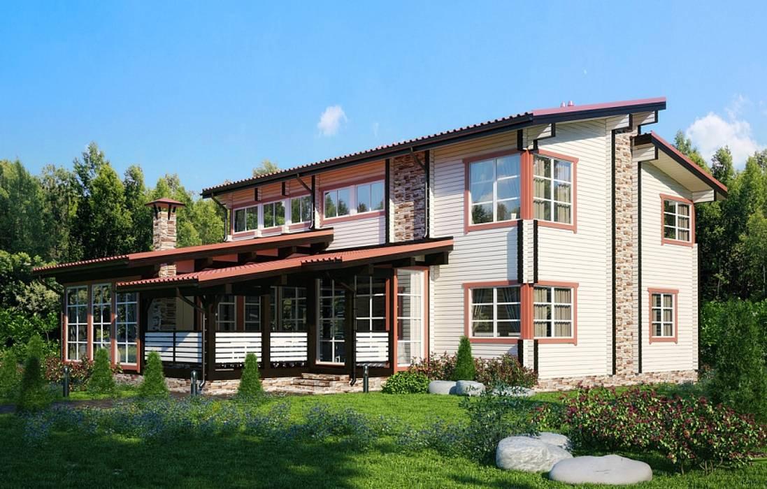 GOOD WOOD Casas de estilo moderno