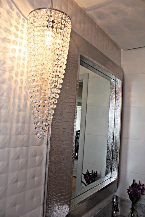 Lavabo em laca brilho Banheiros modernos por Daiana Oliboni Design de Interiores Moderno