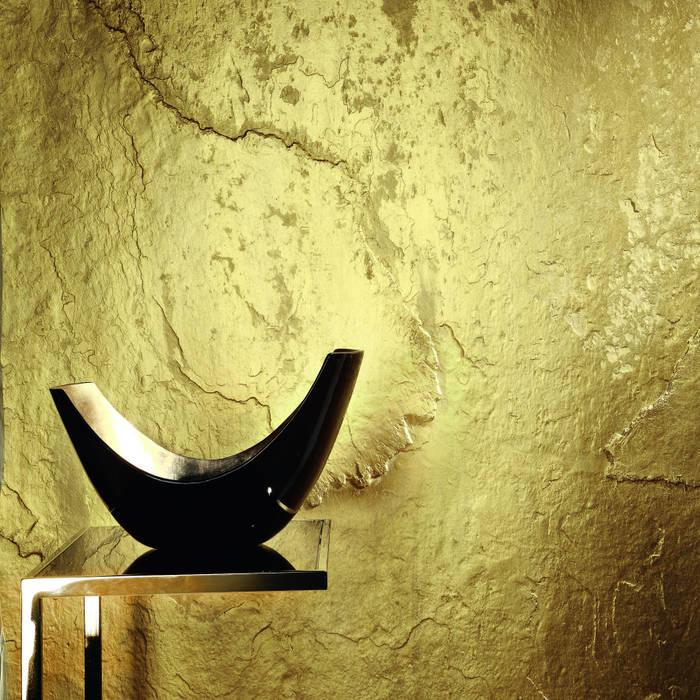 Architects Paper Walls & flooringWallpaper Amber/Gold