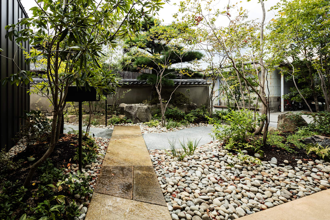 Eclectic style garden by WA-SO design -有限会社 和想- Eclectic