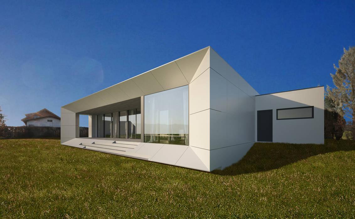 HAUS LHM:  Häuser von AL ARCHITEKT - Architekten in Wien