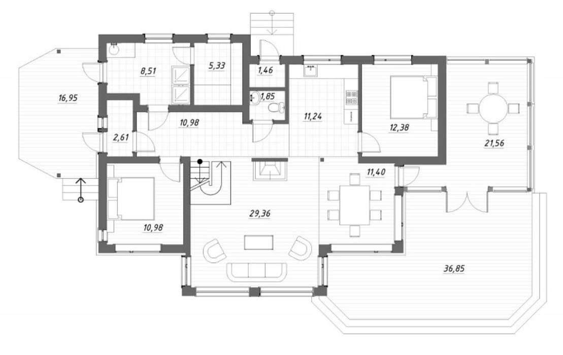 Maisons de style  par homify, Scandinave