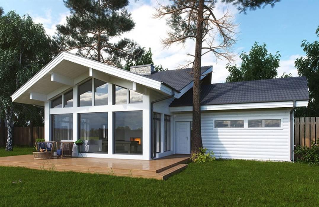 homify Scandinavian style garage/shed
