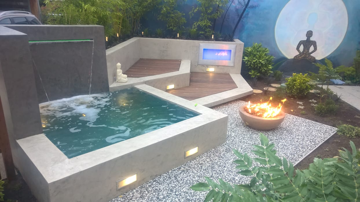 Neues Gartendesign by Wentzel Modern style gardens