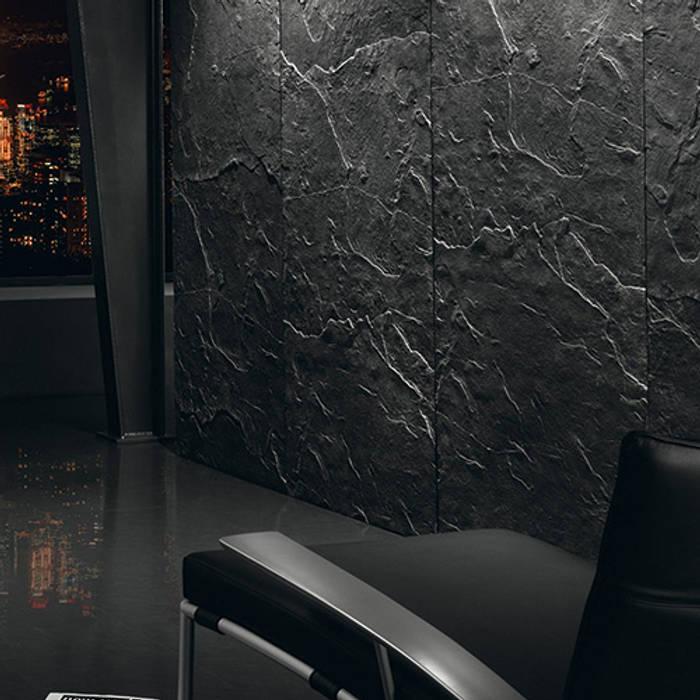 Architects Paper Walls & flooringWallpaper Black