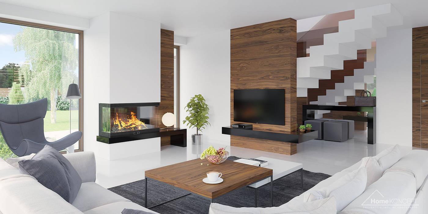 by HomeKONCEPT | Projekty Domów Nowoczesnych Modern