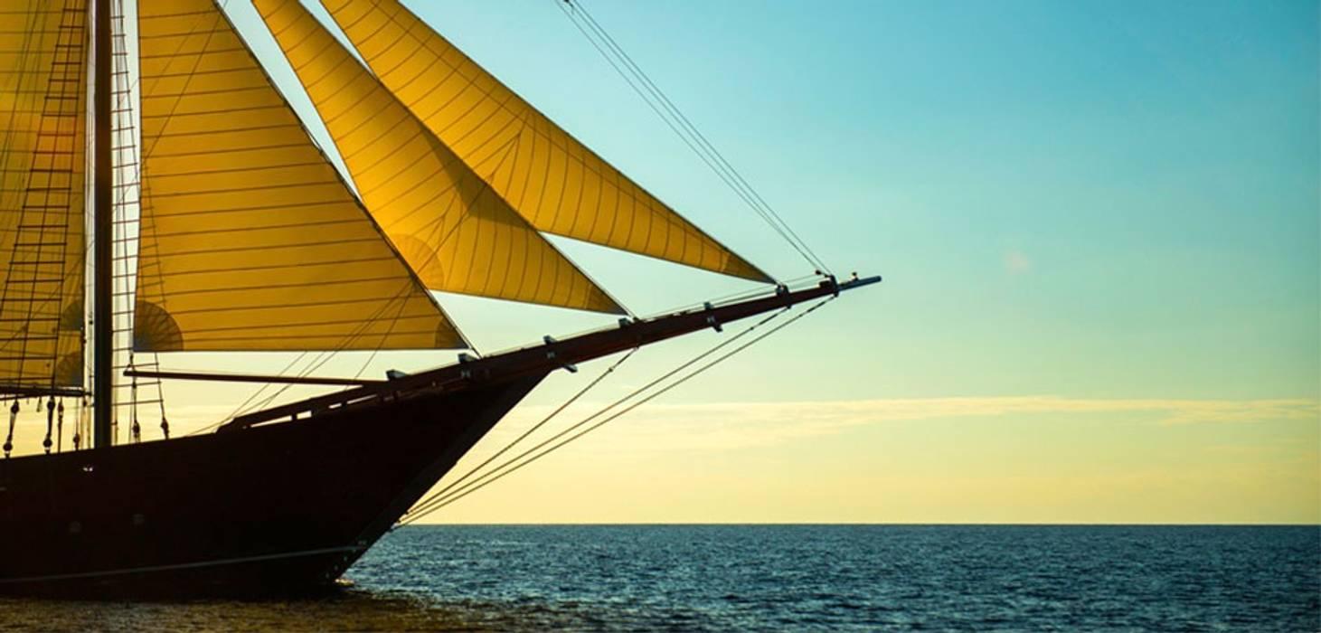 Yachts & Jets de style  par Deirdre Renniers Interior Design, Asiatique Bois Effet bois