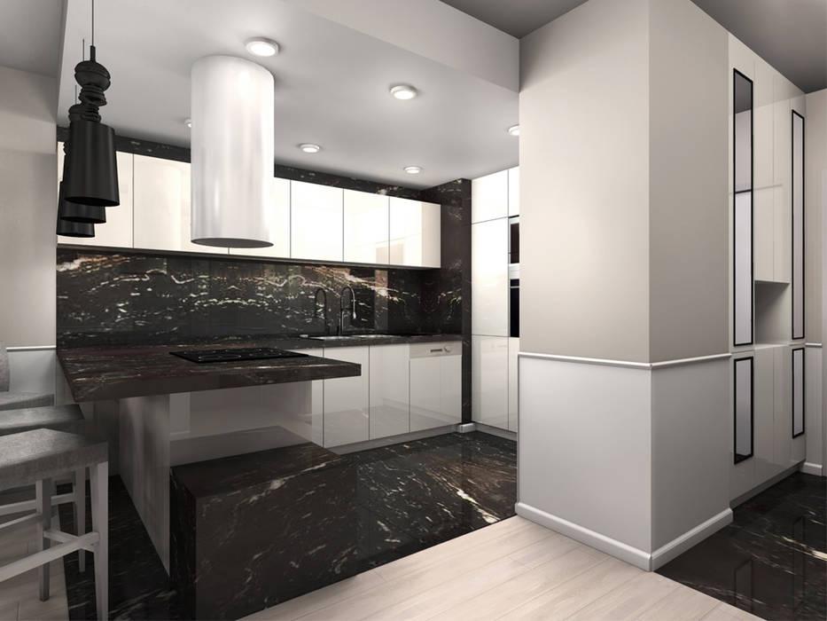 Cozinhas modernas por ZAZA studio Moderno